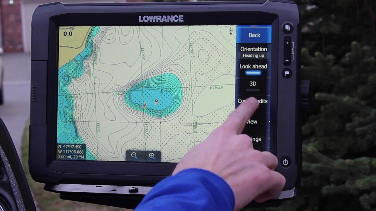Lowrance Map Chips on