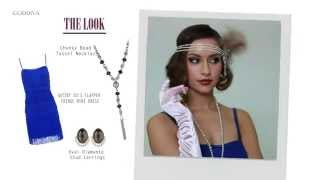 Cool Gatsby Makeup Ideas and Dresses for Halloween Party - http://goddiva.co.uk Thumbnail