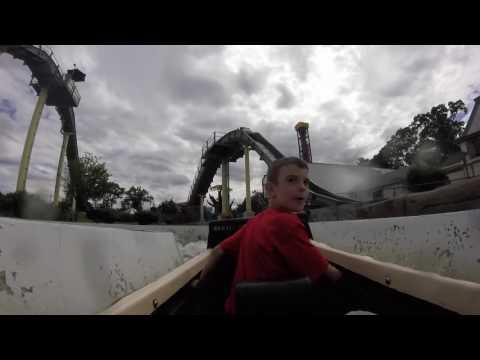 Rye Playland Log flume