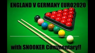 What If Football Snooker commentary on England V Germany EURO 2020