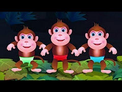 final five little monkey