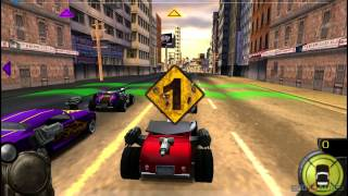 Full Auto 2: Battlelines - Gameplay PSP HD 720P (Playstation Portable)