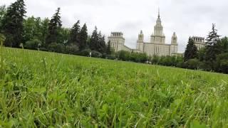 Отработка ударов 2 .Австралийский футбол в Москве