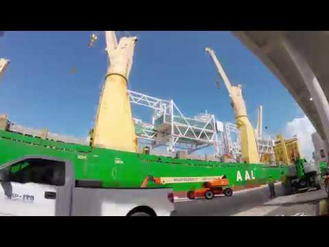 AAL Singapore - Discharging Passenger Bridges in Miami