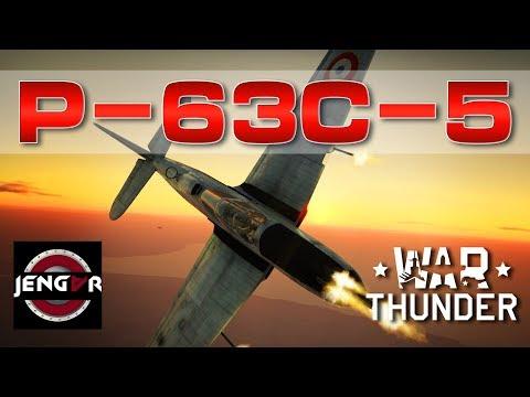 War Thunder Realistic: P-63C-5 King Cobra [Born to Dive]