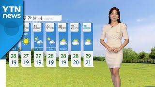 [날씨] 주말 맑고 초여름 더위...자외선·오존 주의 …