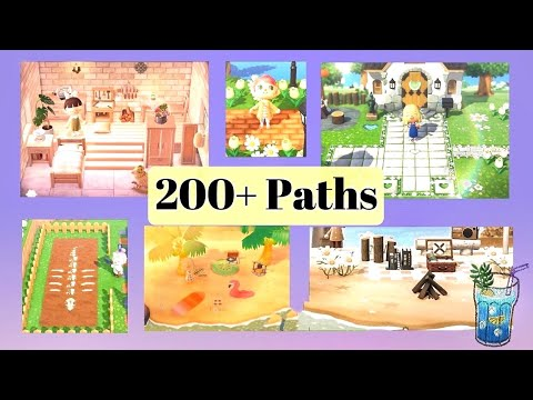 200 Latest Ground Path Designs Codes For Animal Crossing New Horizons Acnh Patterns Youtube