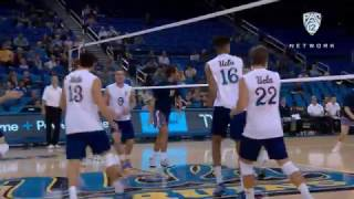 Recap: No. 2 UCLA men\'s volleyball sweeps UCSD at home