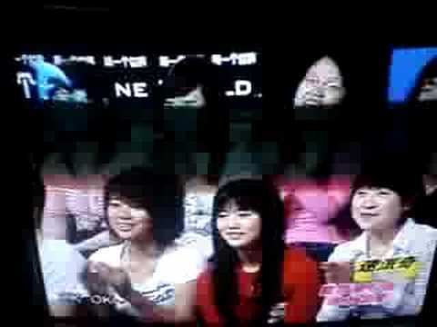 En la tele en Beijing