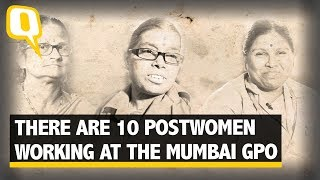 Mumbai's Postwomen Delivering Chitthis at Your Door| The Quint