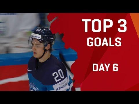 Top 3 Goals - Day 6 - #IIHFWorlds 2017 - 동영상