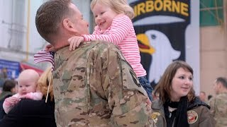 Repeat youtube video Soldiers Coming Home Surprise Compilation 13