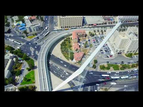 Israeli Lawyer Moshe Strugano | Jerusalem | the capital of Israel aerial