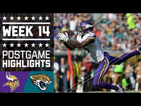 Vikings vs. Jaguars | NFL Week 14 Game Highlights