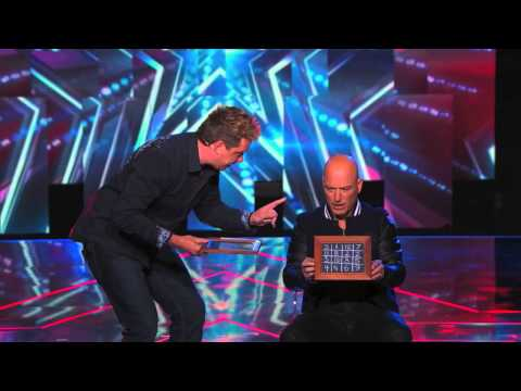 Mike Super freaks out Howie with number magic on AGT America's Got Talent - Super Magician