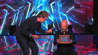 Mike Super freaks out Howie with number magic on AGT America