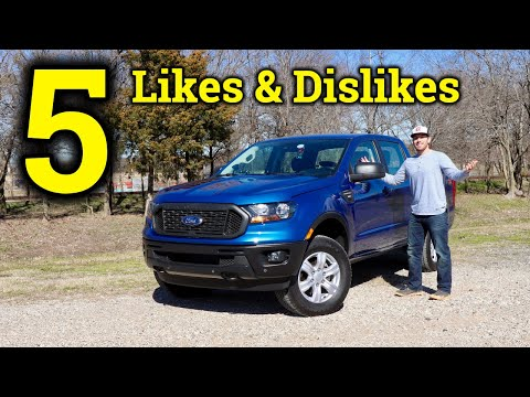 Here's What's Good and Bad About the 2019 Ford Ranger | 1 Week Later
