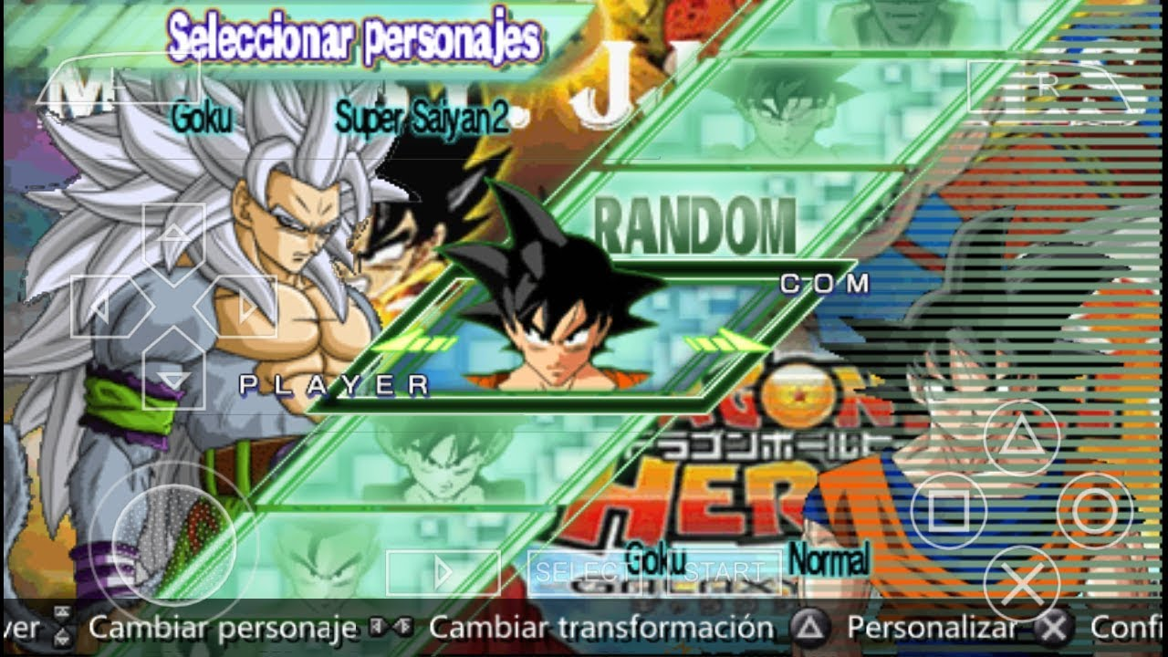 Download Dragon Ball Heroes For PPSSPP Andriod/Ios/Windows Mod With Mega  Link