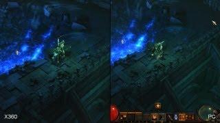 Diablo 3: Xbox 360 vs. PC comparison