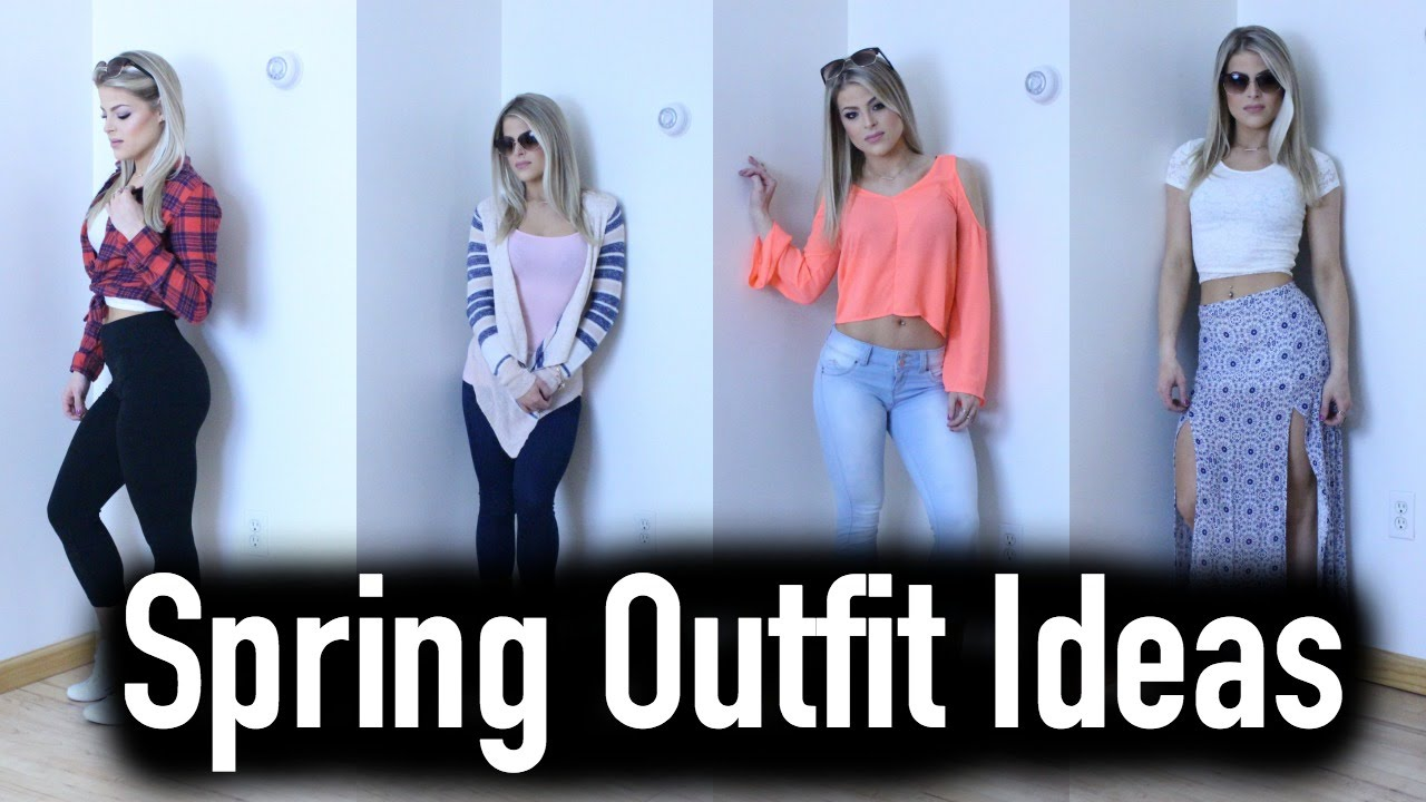 af9947d6b515 Affordable Cute Spring Outfit Ideas 2016 | Valerie pac - YouTube