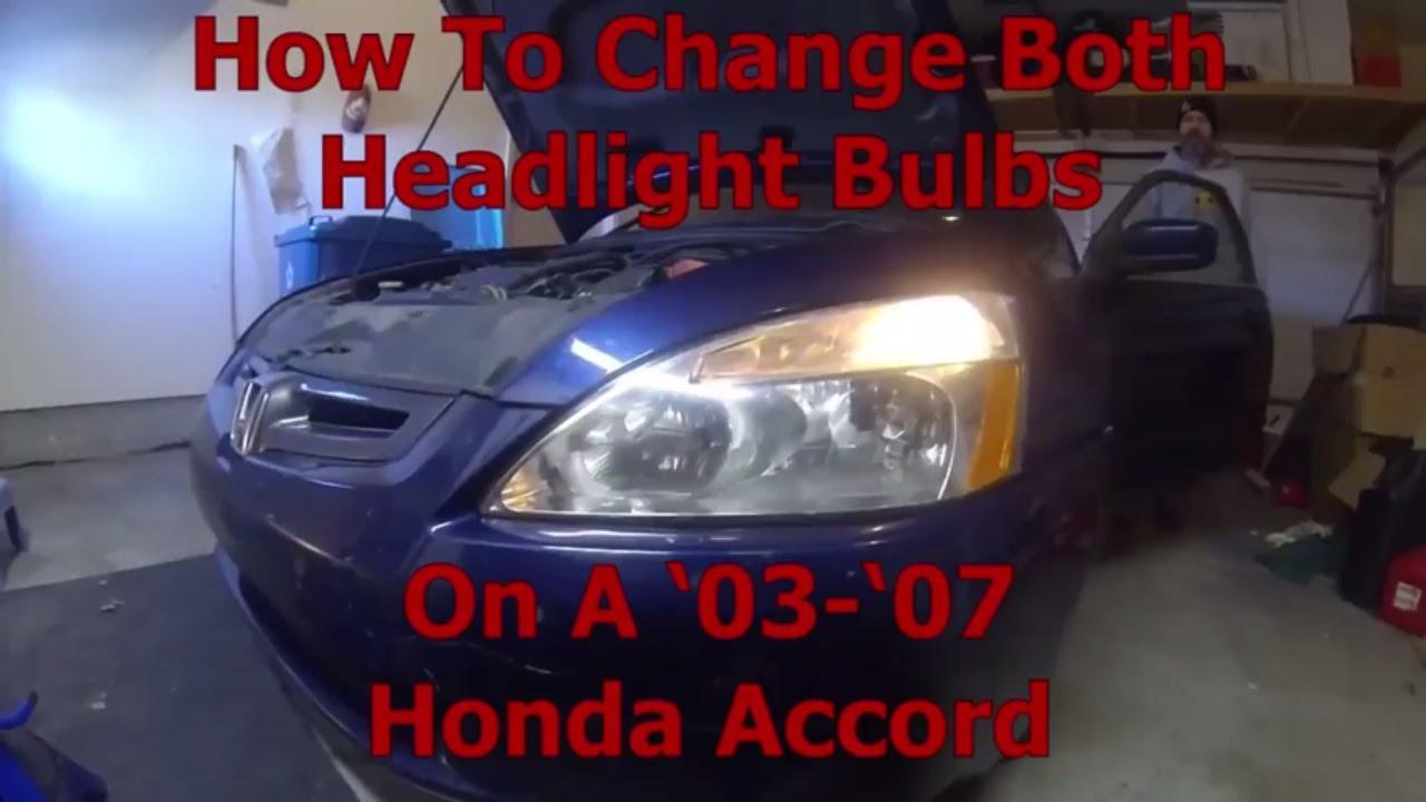 Howtochangeheadlight Hondaheadlightchange Soylegend