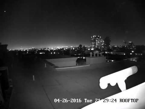 Meteor Blazes Over Los Angeles Sky