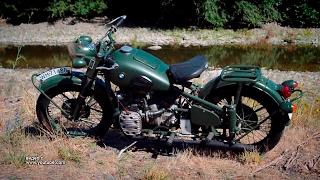 Мотоциклы: BMW R71 1938 года
