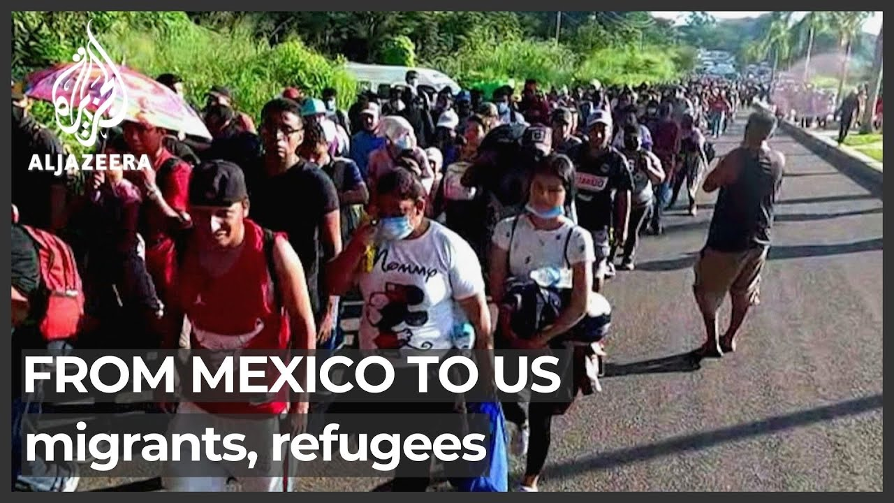 Mexico: Thousands of migrants set off from southern city