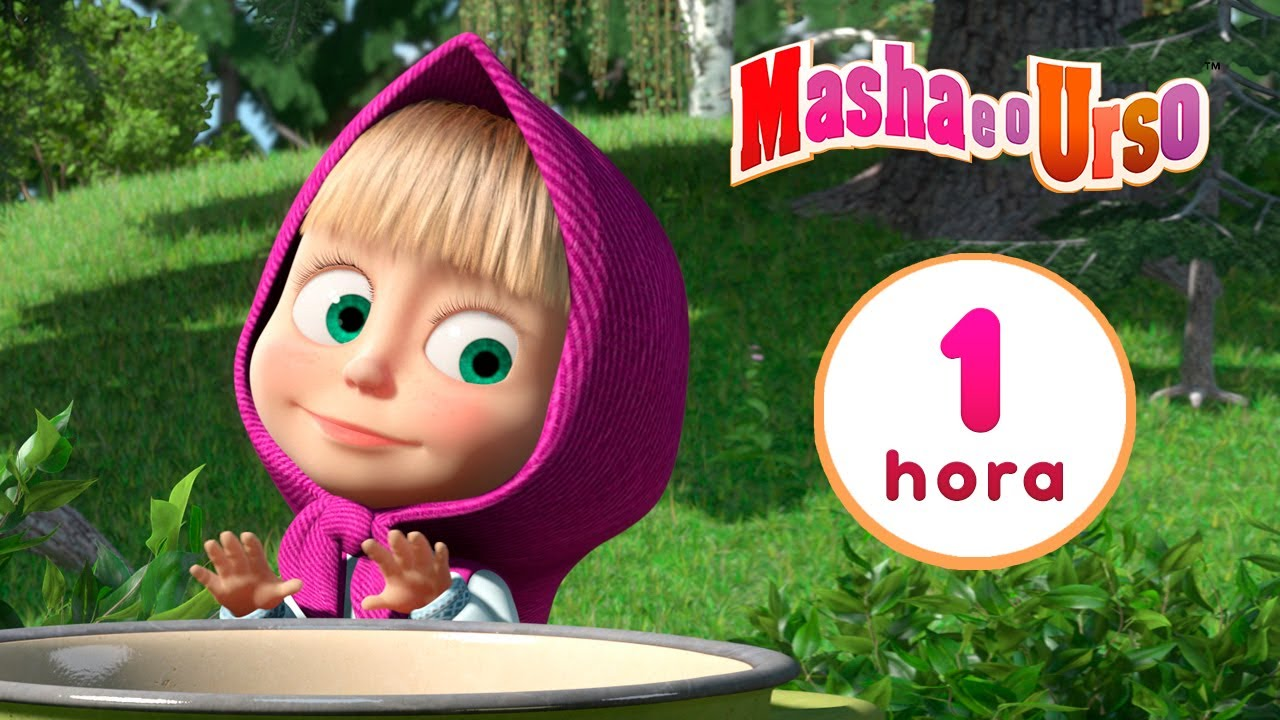 Download Masha e o Urso 👱♀️🐻 🌳🎤 Batida da floresta 🎶🌲 Compilação 14 🎬 1 hora de desenhos animados