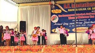 Sorry Sorry || Lkg Dance | Annual Function || Rk School Haroda Kalan || Choreographer AJAY Nanda ||