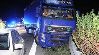 Schwerer Unfall auf der A13 bei Teupitz