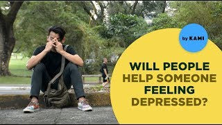 Filipino Social Experiment: Do We Treat Depression Seriously? | Human Meter