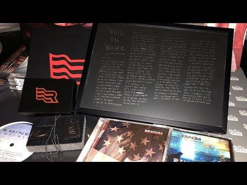 Unboxing: Eminem's exclusive Revival pre-order bundle for Stans (Autographed 'Walk on Water' Steel)