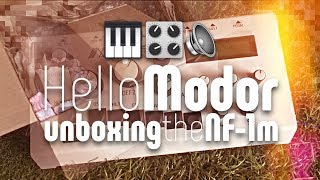 Hello Modor unboxing the Modor NF 1m