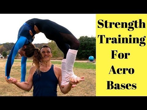 How To Become A Strong Acroyoga Base