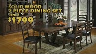 Dining Room Rail Creek Furniture Co Duration 31 Seconds