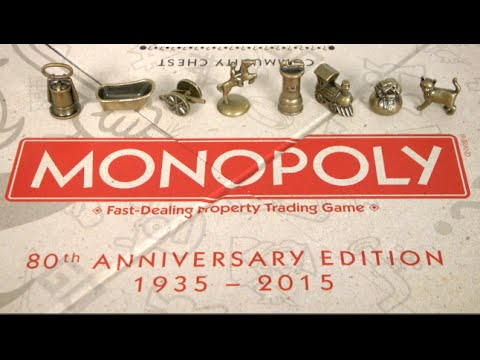 Monopoly 80th Anniversary Edition From Hasbro