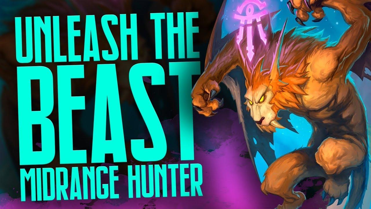 Unleash The Beast Midrange Hunter Rise Of Shadows Hearthstone