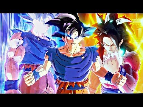 NEW ANIMATION DB FighterZ - Goku Transformations SSJ1-2-3-G-B-K-KX10-KX20-UI-MUI Final Forms DBS