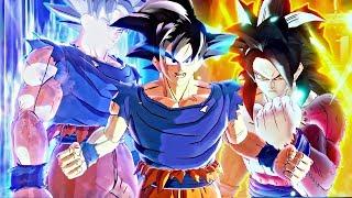 NEUE ANIMATION DB FighterZ - Goku Transformationen SSJ1-2-3-G-B-K-KX10-KX20-UI-MUI Endgültige Formen DBS