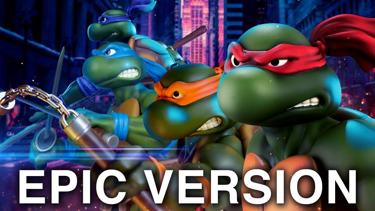 Teenage Mutant Ninja Turtles 80's Theme | EPIC VERSION