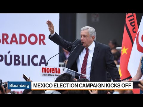 Mexico's Presidential Election Campaign Kicks Off