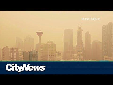 Smoke from BC wildfires chokes Alberta