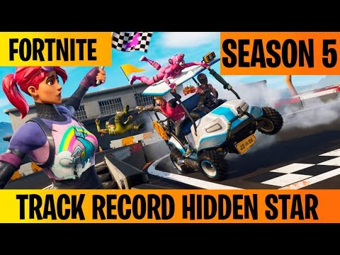 Track Record Hidden Battle Star Location - Fortnite Season 5 Week 3