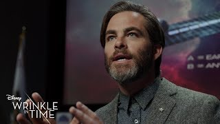 """Presenting Tesser Theory"" Clip - Disney's A Wrinkle in Time"