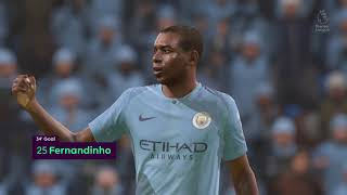 FIFA 19 Manchester City v Chelsea Snow Conditions