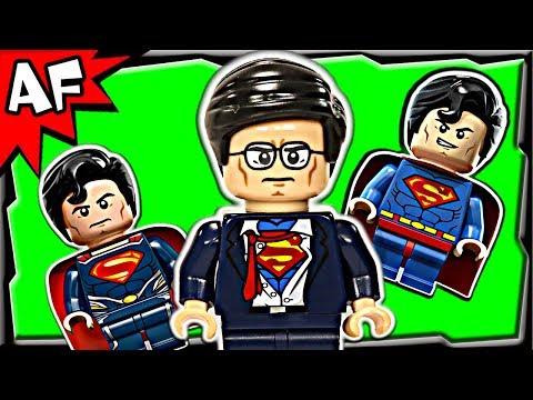 Superman CLARK KENT Exclusive Lego DC Super Heroes Unite Minifigure Review