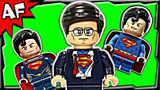 Superman CLARK KENT Exclusive Lego DC Super Heroes Unite Minifigure Review