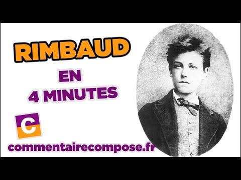 Rimbaud : 4mn pour le découvrir !