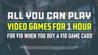 Dave & Buster's | All New Power Hour™ | All You Can Play Video Games For 1 Hour Only $10 Extended